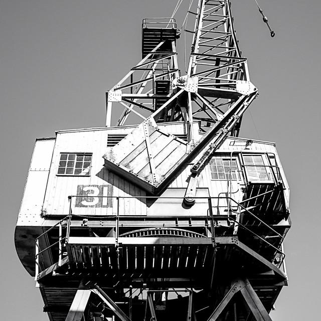 """Steam Crane"" stock image"