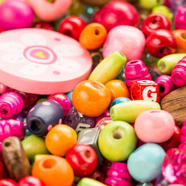 """Beads"" stock image"