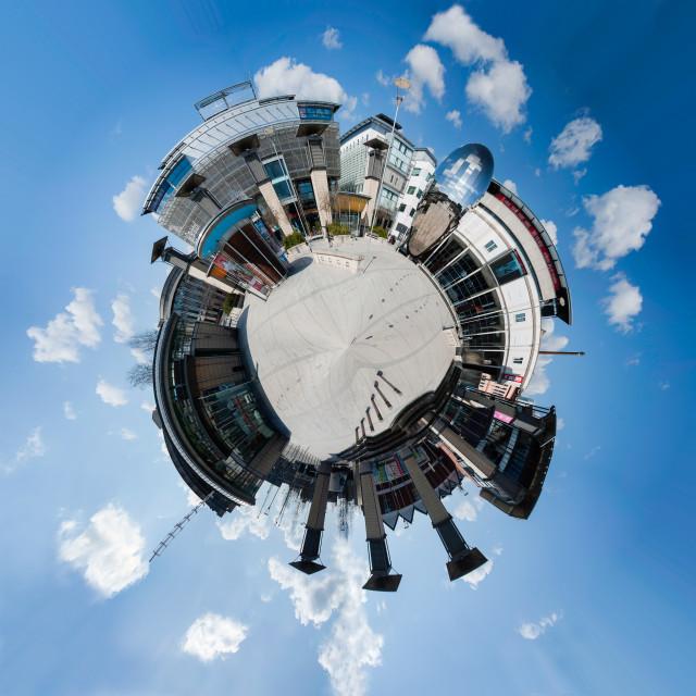 """""""Millennium Square, Bristol"""" stock image"""