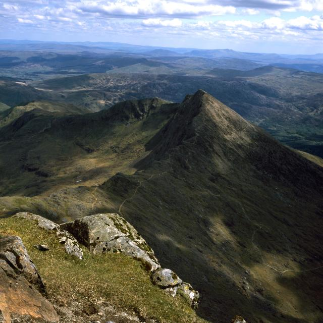 """Mount Snowdon"" stock image"