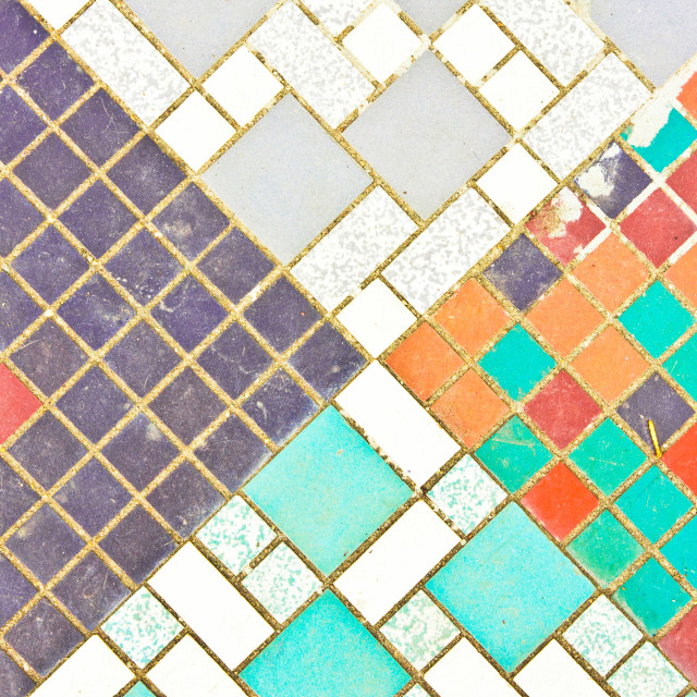 """Tiled surface"" stock image"