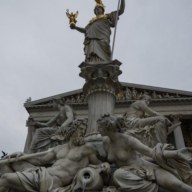 """Vienna Parliament"" stock image"