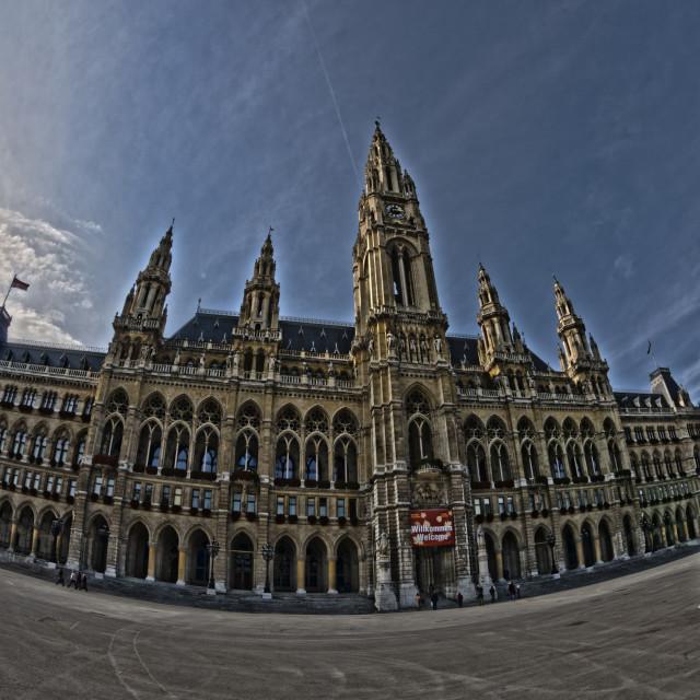 """Vienna City Hall"" stock image"