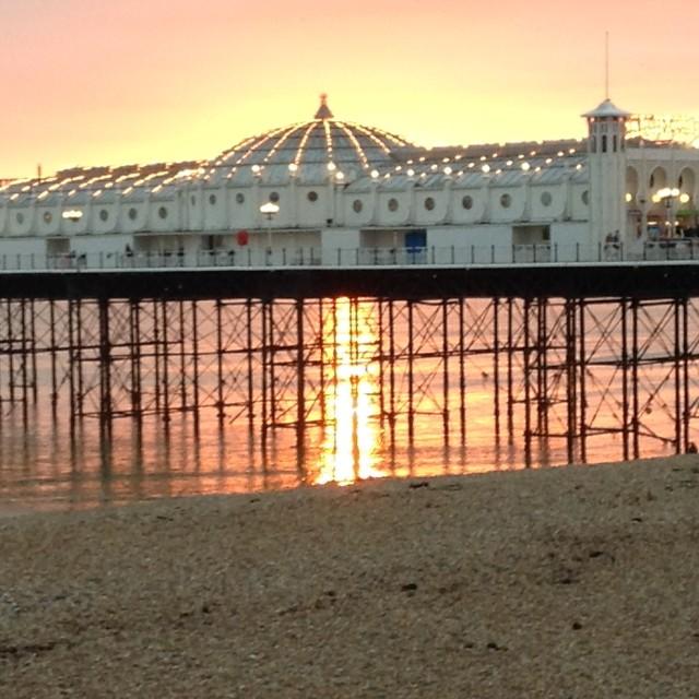 """""""Brighton Peer"""" stock image"""