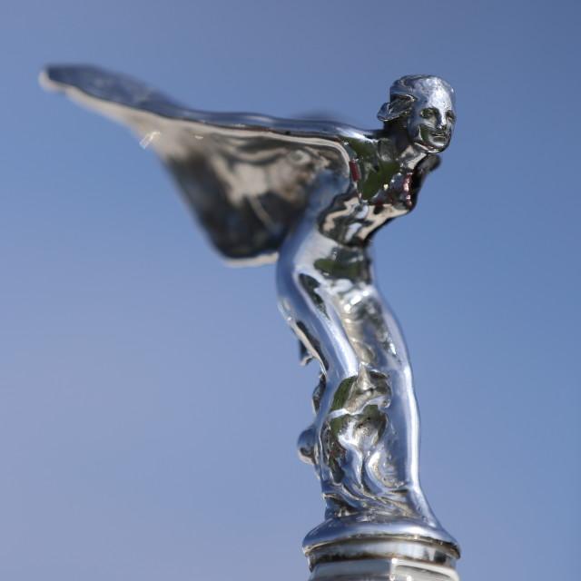 """Rolls Royce Angel."" stock image"