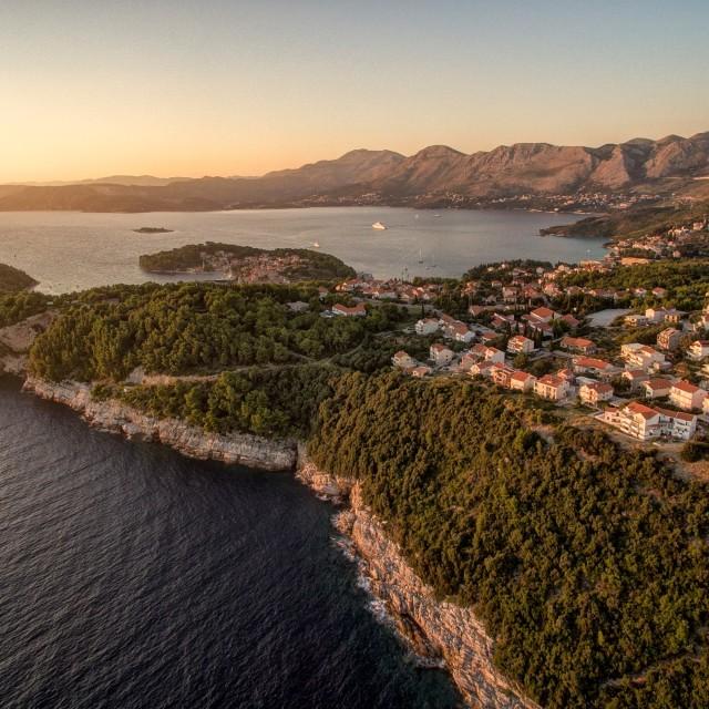 """""""Cavtat Croatia"""" stock image"""