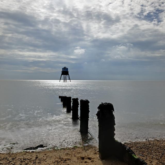 """""""Dovercourt Old Lighthouse,UK"""" stock image"""