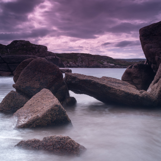 """""""Big rock Donegal"""" stock image"""