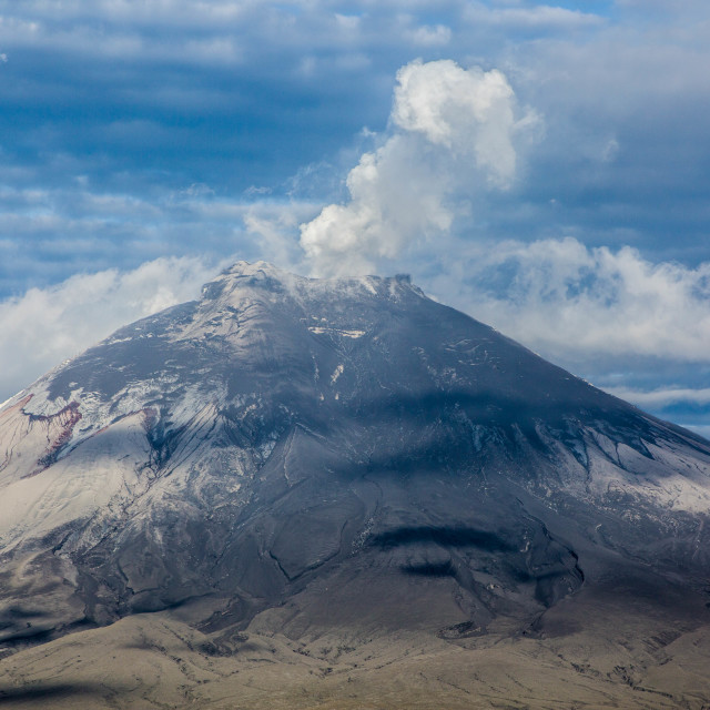 """Volcano Cotopaxi"" stock image"