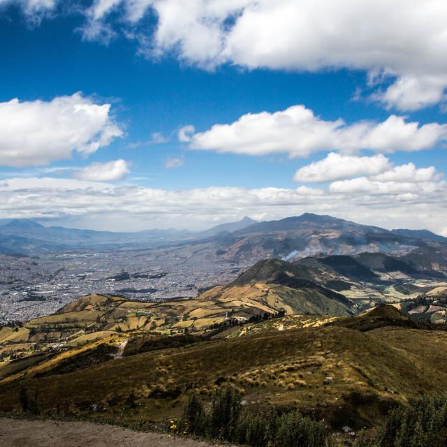 """Quito Ecuador"" stock image"