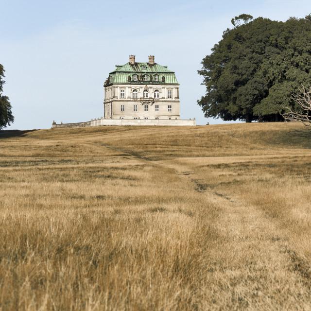 """""""Eremitage Hunting Palace Copenhagen"""" stock image"""