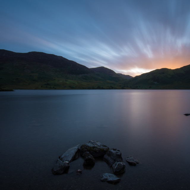 """Crummock Water, Cumbria"" stock image"