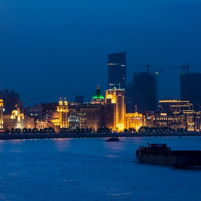"""The Bund, Shanghai"" stock image"