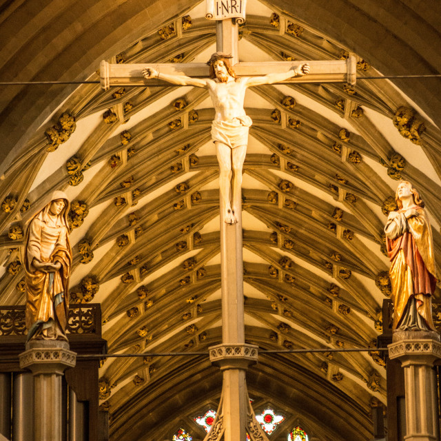 """Crucifix of Jesus Christ"" stock image"