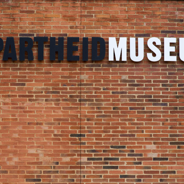"""Apartheid Museum, Johannesburg"" stock image"