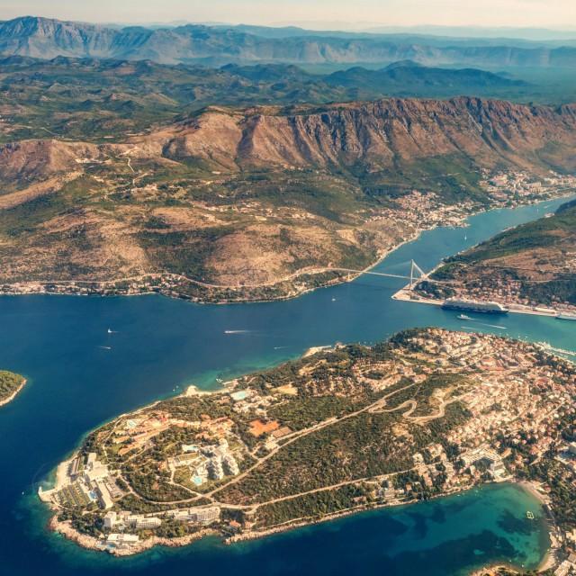 """Croatian Landscape"" stock image"