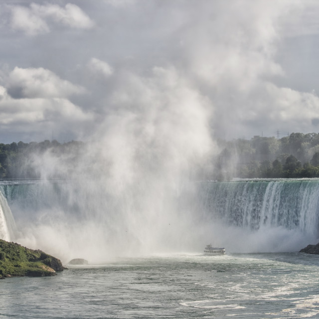 """Horseshoe Falls at Niagara Falls"" stock image"