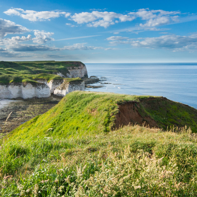 """Flamborough head"" stock image"