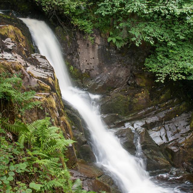 """""""Ingleton falls waterfall"""" stock image"""