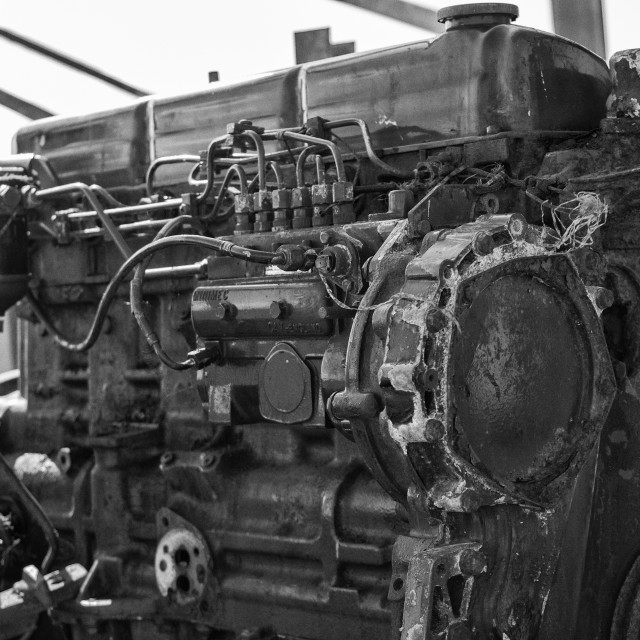 """Boat engine"" stock image"
