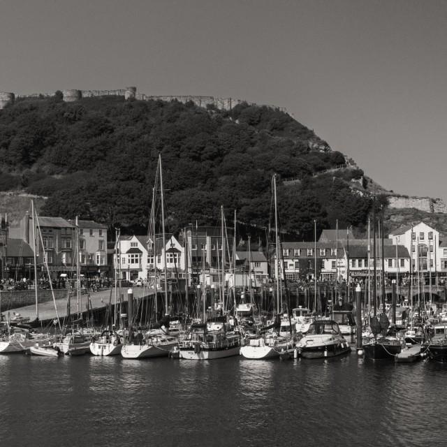 """""""Harbor panoramic"""" stock image"""
