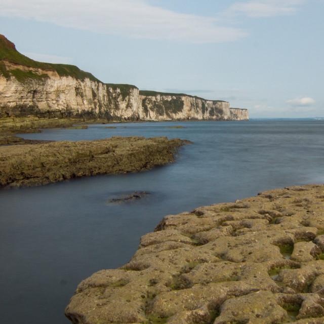 """Thorwick bay coastline"" stock image"