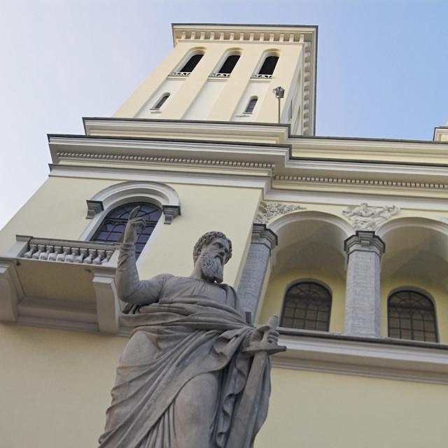 """Saint Peter's Sculpture"" stock image"