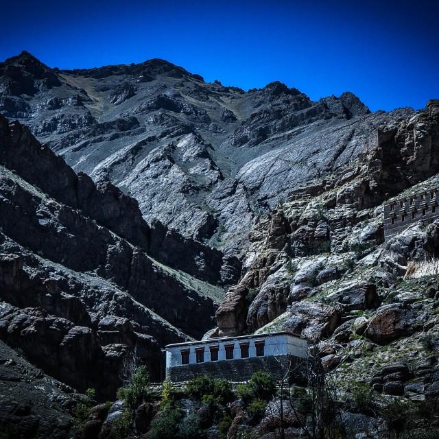 """Hemis Monastery"" stock image"