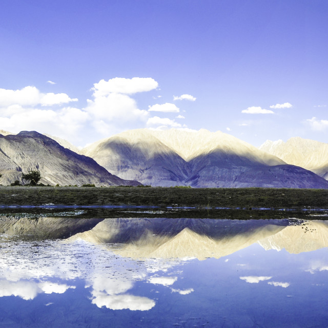 """Nubra Valley"" stock image"