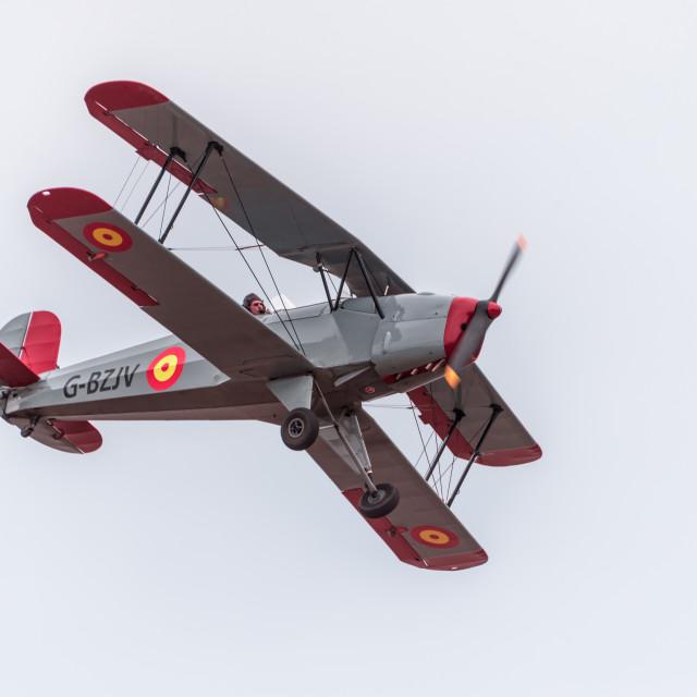 """Buckers Bi-Plane"" stock image"
