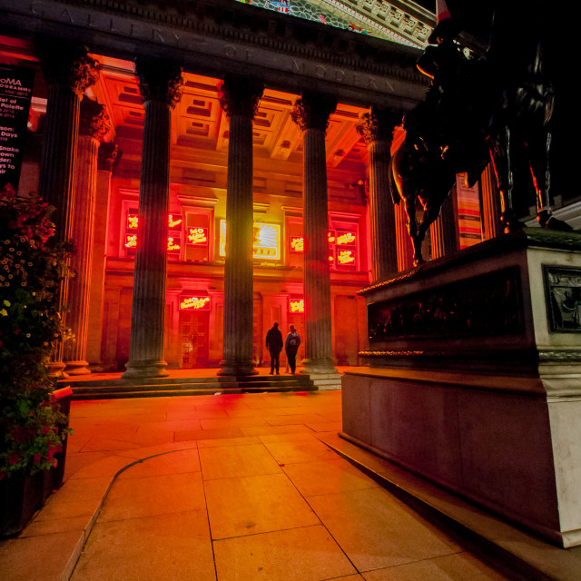 """Gallery of Modern Art, Glasgow"" stock image"