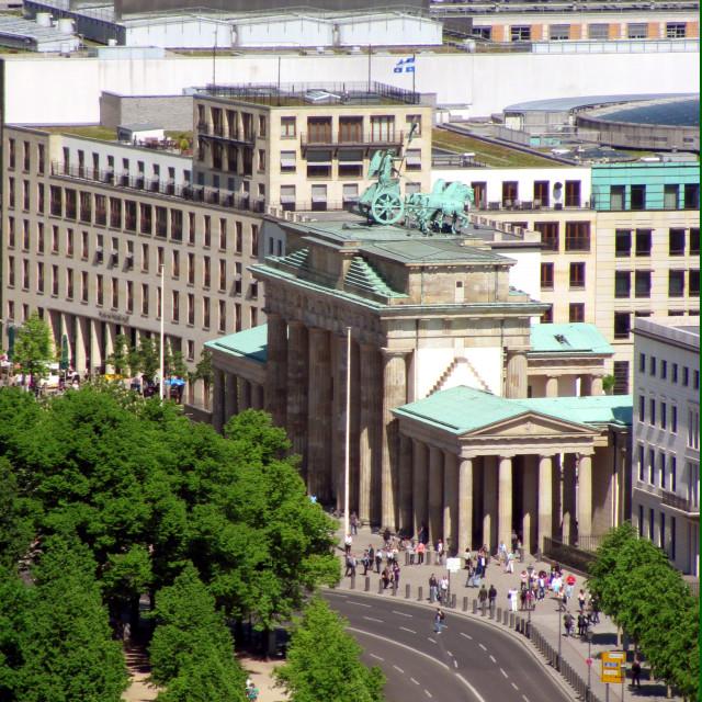 """Berlin - Brandenburg gate"" stock image"