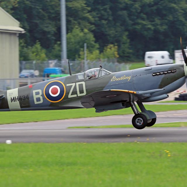 """Spitfire IX"" stock image"