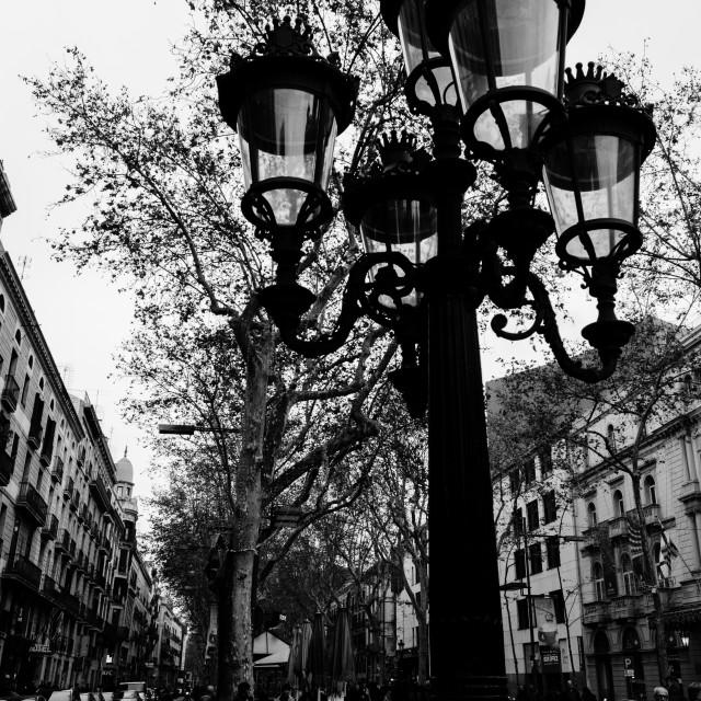 """Barcelona - La Rambla"" stock image"