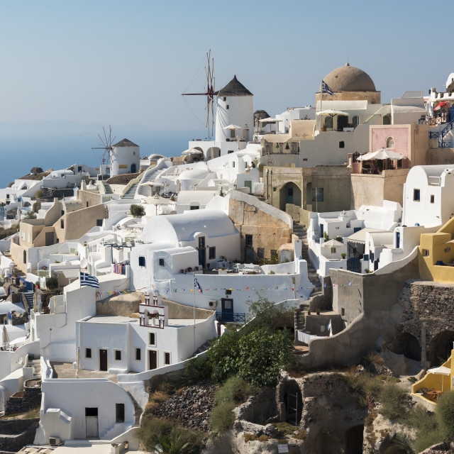 """Oia Village, Santorini, Greece"" stock image"