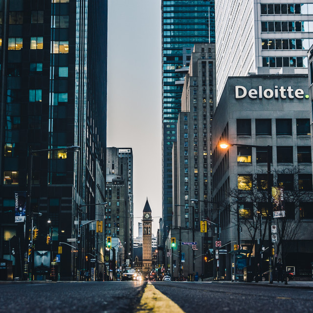 """Old City Hall Toronto"" stock image"