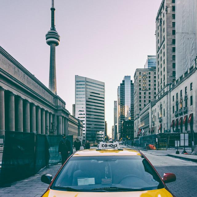 """Toronto Cityscape"" stock image"