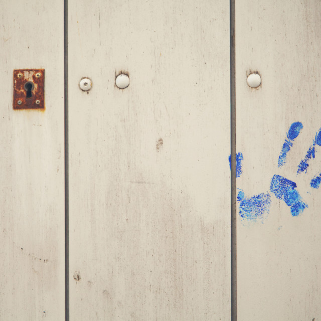 """handprint"" stock image"