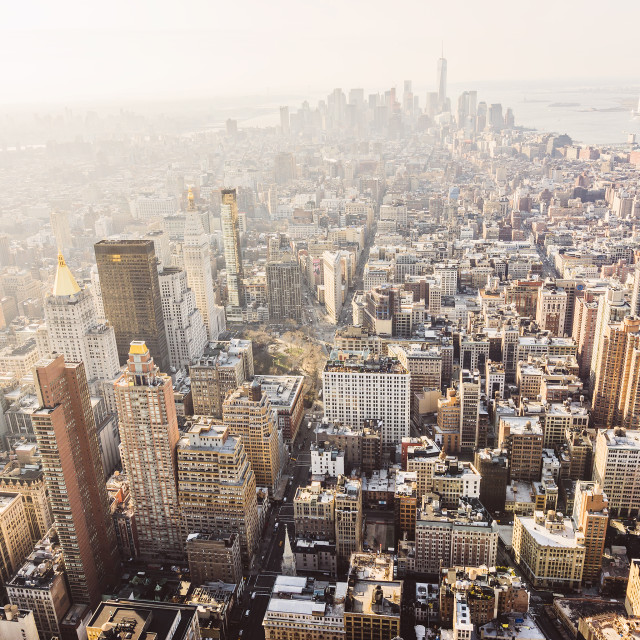 """""""Empire State Building New York"""" stock image"""