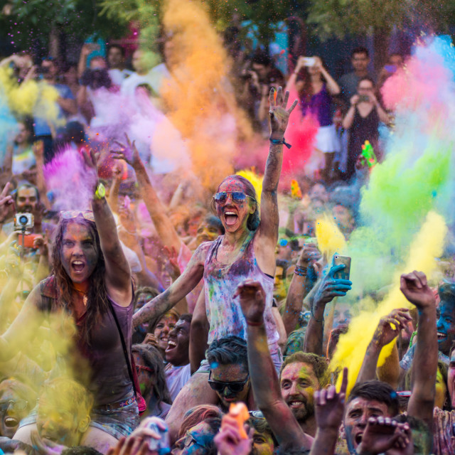 """Holi Festival"" stock image"
