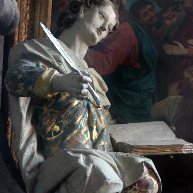 """Saint John the Evangelist"" stock image"