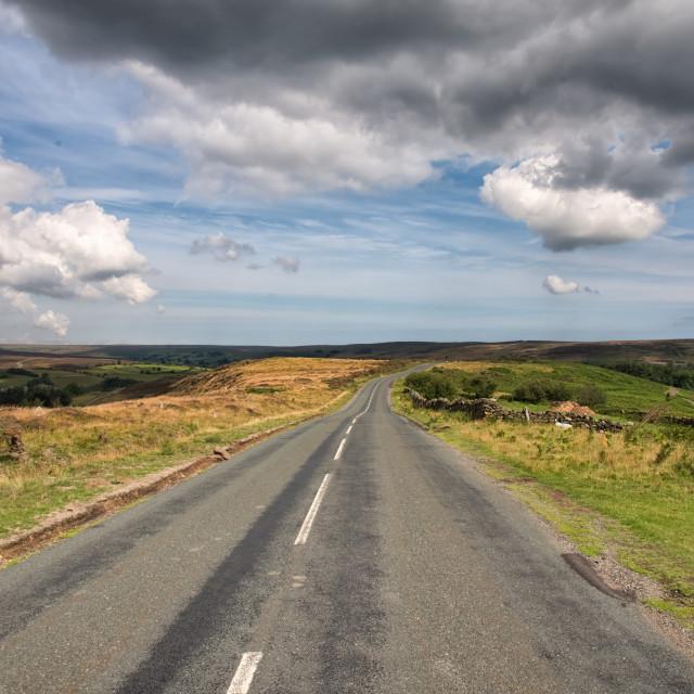 """North York Moors National Park"" stock image"