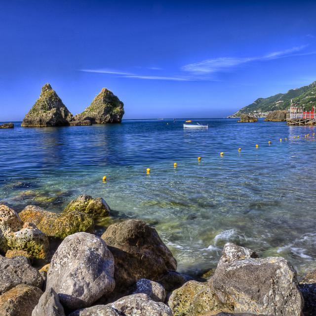 """Vietri sul Mare (SA), amalfi coast, Italy : marina 3"" stock image"