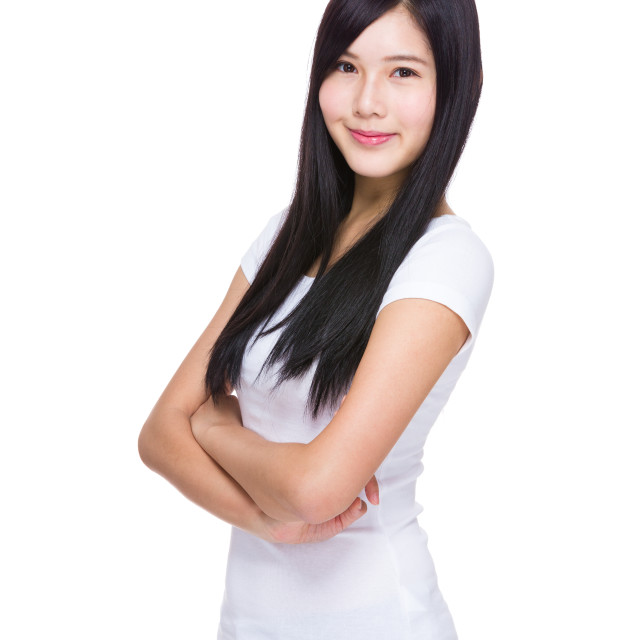 """""""Young woman"""" stock image"""
