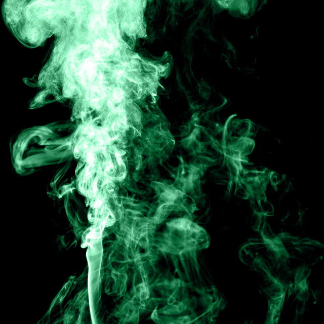 """Green flame"" stock image"