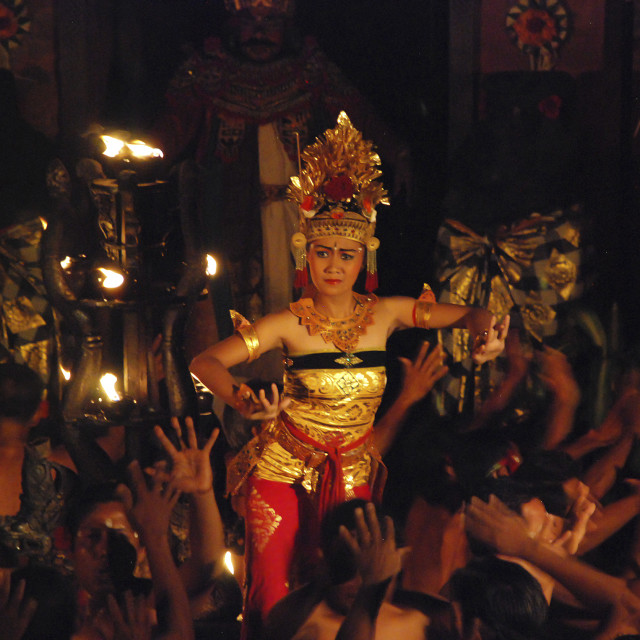 """Traditional dance in Bali"" stock image"