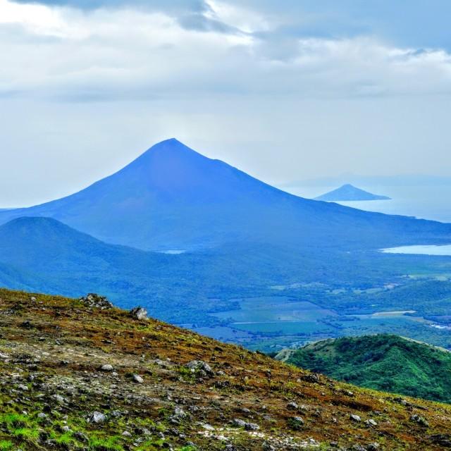 """El Hoyo volcano view, Nicaragua."" stock image"