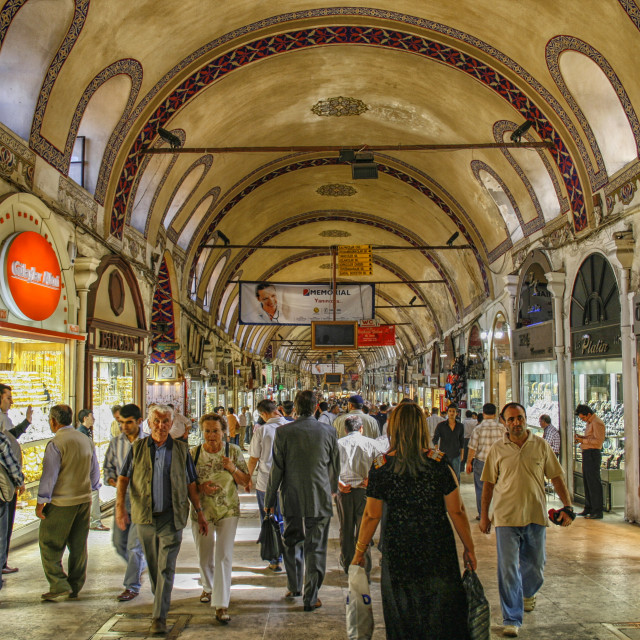 """Grand bazar Istanbul"" stock image"