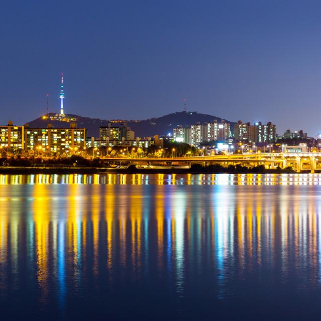 """Han River in Seoul"" stock image"