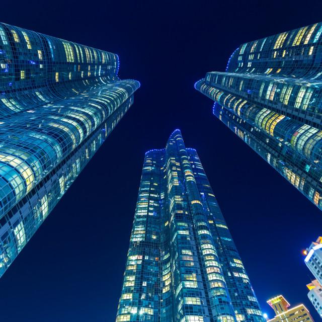 """Modern building in Busan"" stock image"
